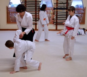 Aikido classes for children at Aikido Eastside