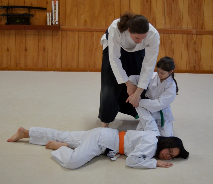 Aikido, instruction, classes, for kids, children