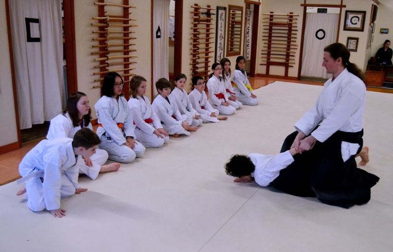 Aikido class with Jeff Strand